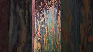 Acrylic pour painting part 2 of 2 (032)