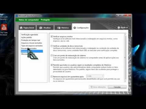 Como desativar o Microsoft security essentials