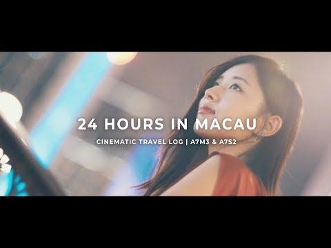 24 HOURS in MACAU | CINEMATIC TRAVELOG | SONY A7III