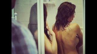 Shower girls Naked together taking college