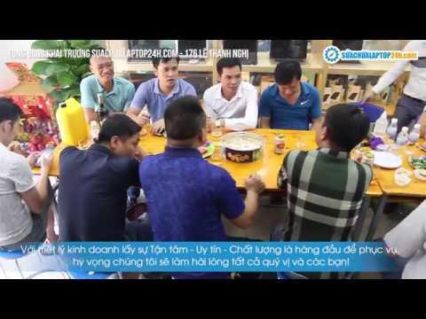 Khai trương SUACHUALAPTOP24h.com tại 176 Lê Thanh Nghị
