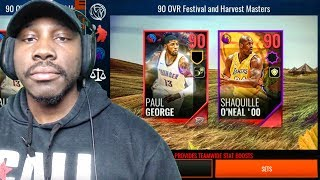 NEW 90 OVR MASTER ELITES & FALL PACK OPENING! NBA Live Mobile 18 Gameplay Ep. 13