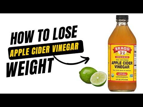 DRINKING APPLE CIDER VINEGAR TO LOSE WEIGHT