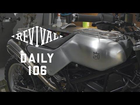 Husqvarna Svartpilen custom, Ducati 1100 Fuse, Guzzi T3 // Revival Daily 106