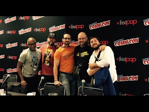 """Creators Collide: Europe vs USA"" panel @ New York Comic Con 2016"