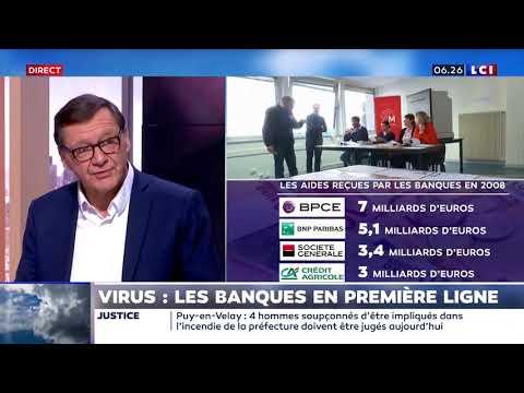 Virus: Les banques en première ligne