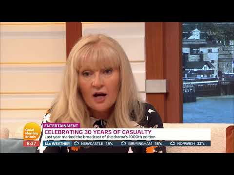 Cathy Shipton Explains How Casualty Taught Her Life Skills | Good Morning Britain