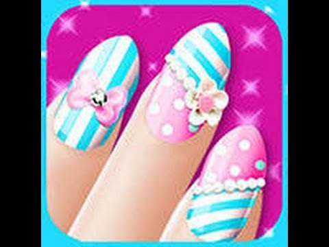 Hair Nail and Makeup Game || Hair Nail and Makeup Ep1- 2017 from YouTube · Duration:  18 minutes 13 seconds