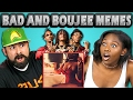 ADULTS REACT TO BAD AND BOUJEE (Memes -...