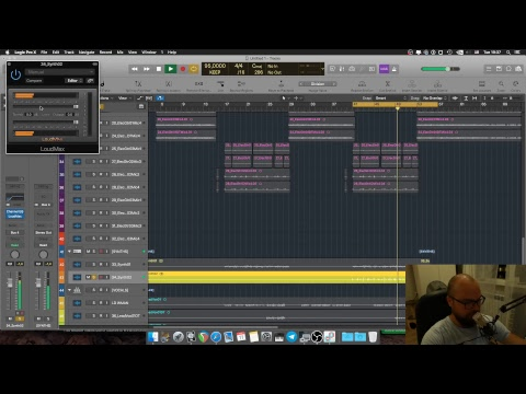 Live. Mixing Prog Rock music in Logic Pro X (RU)