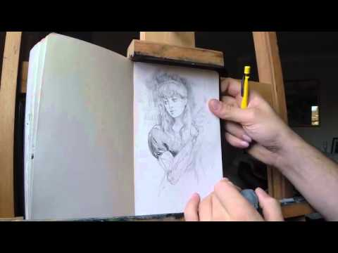 Pencil Sketch Walkthrough with Miles Johnston