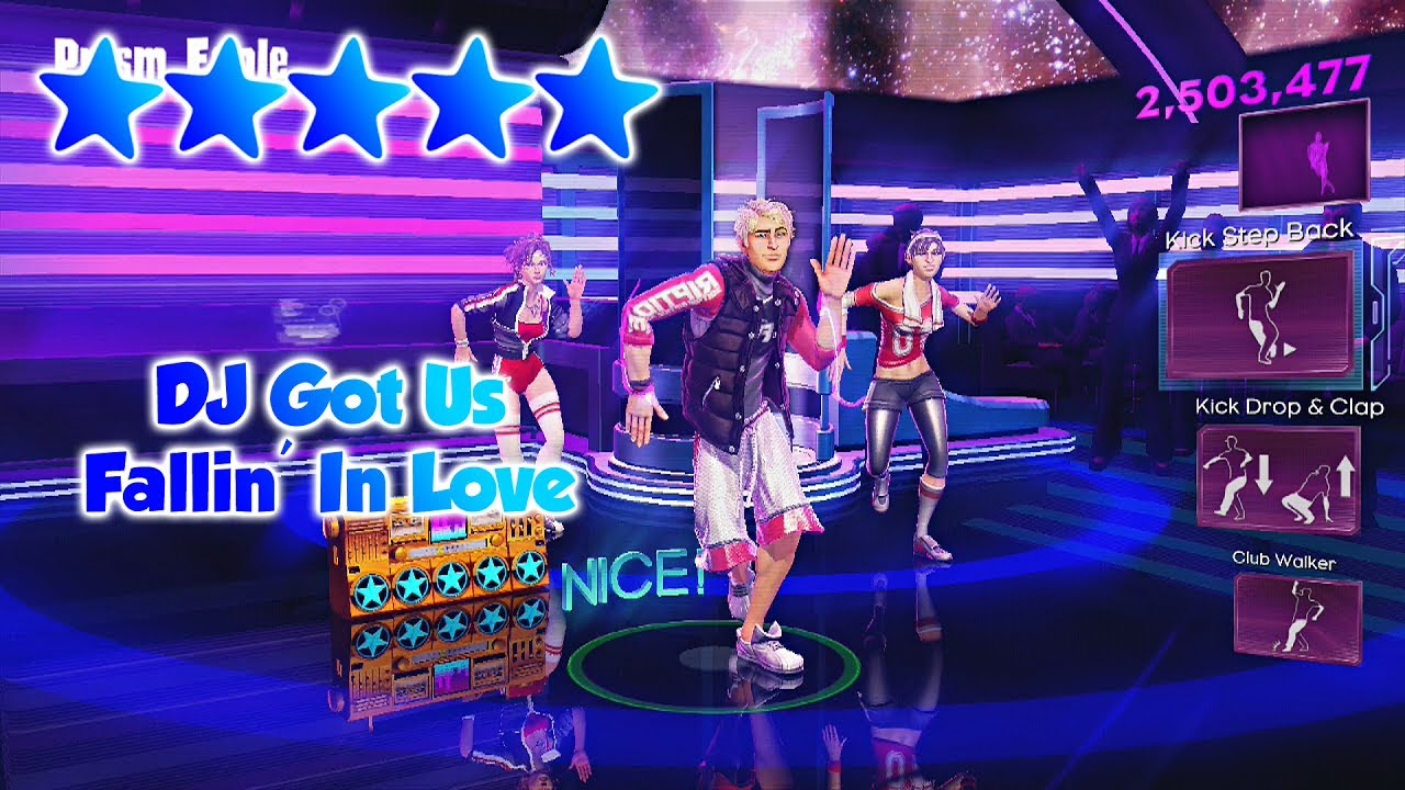 Dance Central 3 - DJ Got Us Fallin' In Love (DC2 Import ... - photo #12
