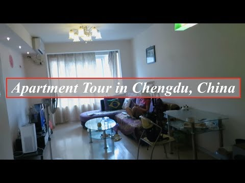 Chinese Apartment Tour in Chengdu, Sichuan | $300 Dollars a Month