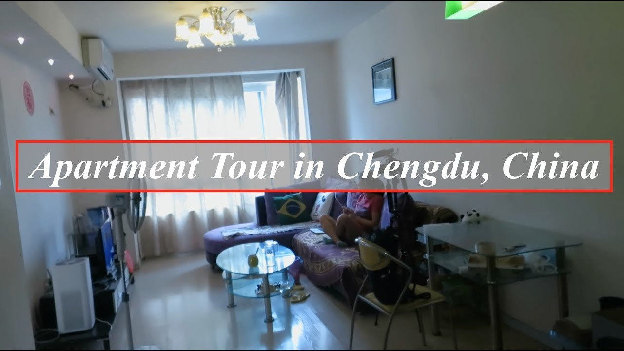 Chinese Apartment Tour In Chengdu Sichuan 300 Dollars A Month