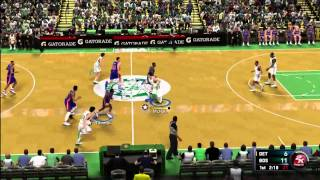 "NBA 2K11 - Xbox 360 "" '89 Pistons at '85 Celtics"""