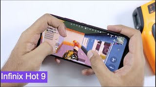 Infinix Hot 9 PUBG Mobile Gaming Test, Graphics Settings & gameplay   Gyroscope   Hindi
