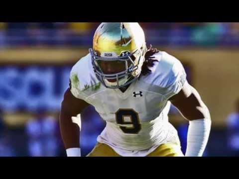 """Jaylon Smith    """"Welcome to Dallas""""    Notre Dame Highlights"""