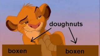Simba is Stupid in School (Parody)