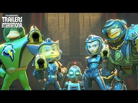 Trailer do filme Heróis da Galáxia - Ratchet & Clank