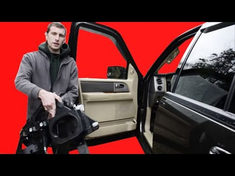 07-17 Expedition Front Window Regulator Replacement + Lincoln Navigator