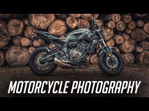 Motorcycle Photography Tutorial | How I Shoot My 2017 Yamaha MT07