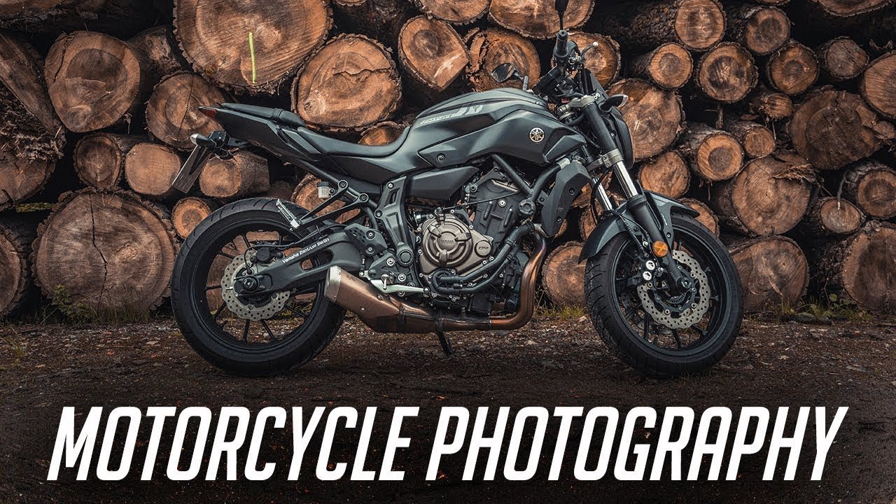 Motorcycle photography techniques
