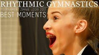 Художественная гимнастика Лучшие Моменты Зимние Узоры 2017 Rhythmic Gymnastics BEST MOMENTS RG 2017