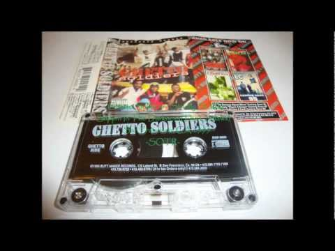 Ghetto Soldiers - Strictly Sickly - Slippin' In The Darkness SF, CA G-Funk 1995