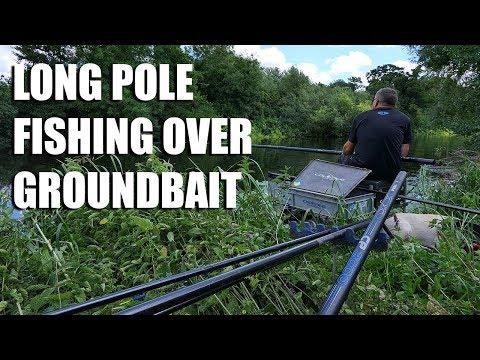 Long Pole Fishing Over Groundbait - River Avon
