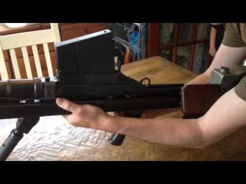 Replica Boys Anti Tank Rifle safety catch applied.