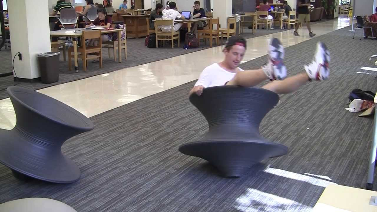 sc 1 st  YouTube & Take the spun chairs for a spin - YouTube