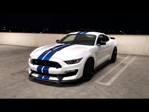 POV Night Drive:  Ford Shelby GT (MT)