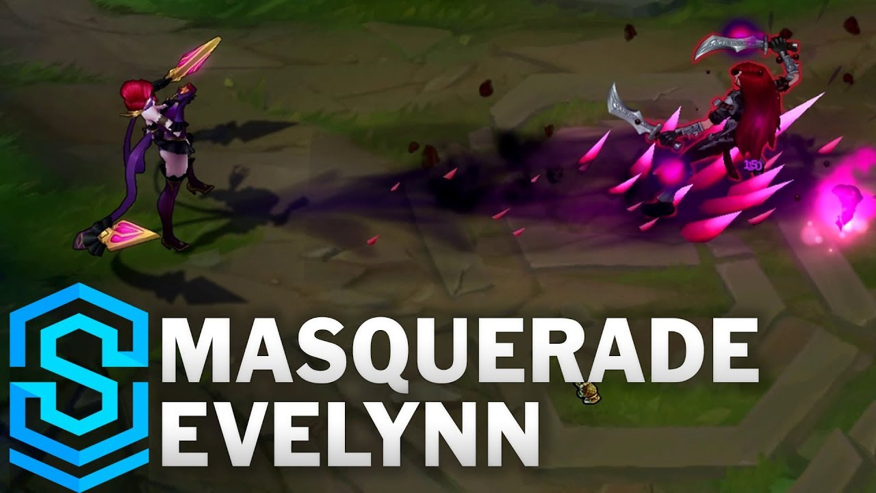 Masquerade Evelynn (2017) Skin Spotlight - League of ...