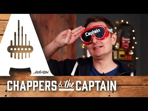 The Captains Blindfold Strat Challenge!! Andertons Music Co.