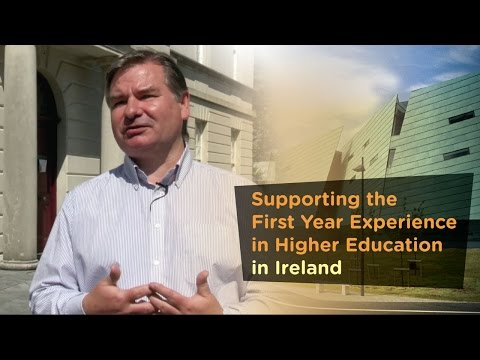 Supporting the First Year Experience in Higher Education in Ireland