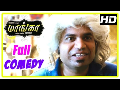 Maanga Tamil Movie Full Comedy Scenes | Part 2 | Premgi Amaren | Manobala | Chaams