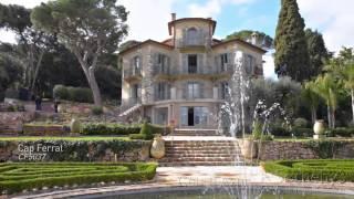 Château la Cima, villa de luxe à vendre à Nice