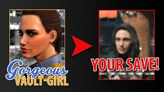 transferring Face Details - Fallout 4