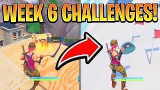 Fortnite WEEK 6 CHALLENGES GUIDE! - Chilly Gnomes Emplacements, Secret Banner (Battle Royale Saison 7)