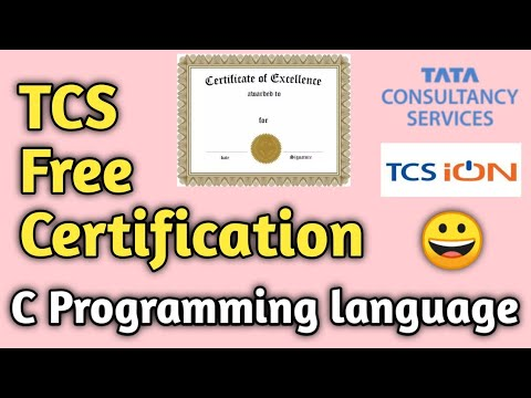 tcs-free-certification-course-|-introduction-to-programming-in-c