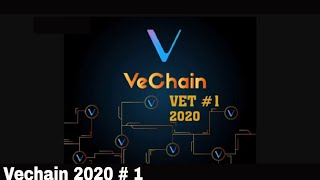 Vechain Price 2020. HUGE partnerships $ 4.50 or $ 75.00 The Proof is in the Partnerships