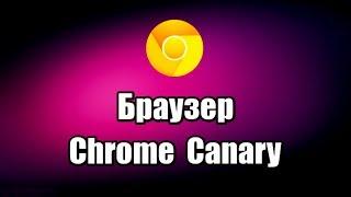 Браузер Chrome Canary. Как скачать и установить браузер
