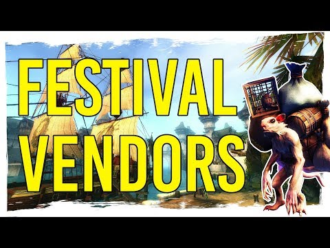 Guild Wars 2 - Permanent Festival Vendors thumbnail
