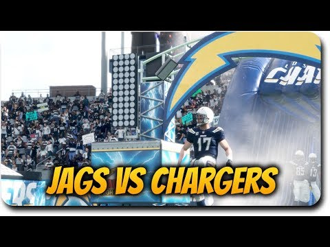 "Madden 18 Gameplay ""Los Angeles Chargers First Home Game vs the Jags!"" Arcade Game Style"