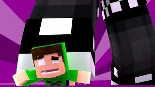 Minecraft Animado #21 : ESMAGADO POR UM GIGANTE  !! ( Minecraft Animation )
