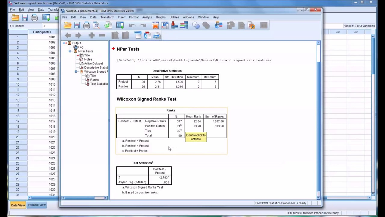 how to get percentile rank in spss