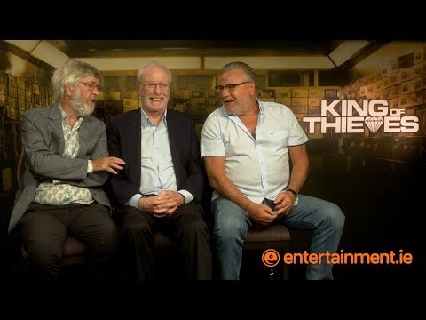 Michael Caine, Ray Winstone & Tom Courtenay on the human side of King of Thieves