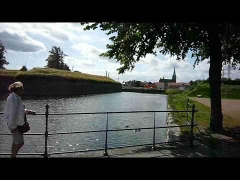 Llegando a Kronborg, Helsingor