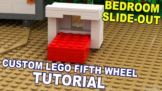 Tutorial - Lego Fifth Wheel Bedroom Slide Out (7 - 12) [cc]