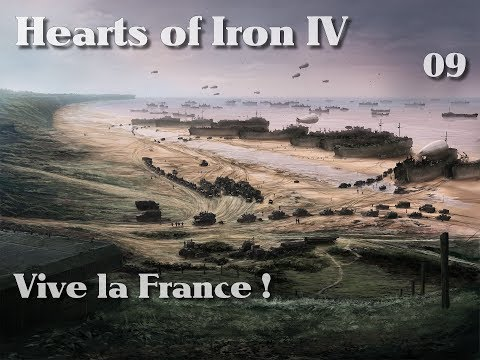 Hearts Of Iron 4: Vive la France ! C'est la Guerre !! ep09